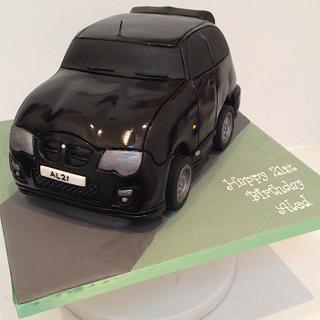 Black MG car