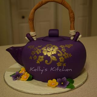 Teapot Mother's Day cake