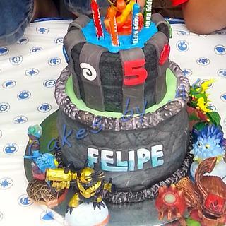 Skylander's Birthday Cake