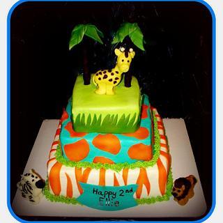 Whimsical Safari Birthday