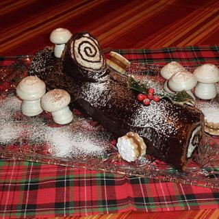 Yule Log - Cake by Artisan Confections by Ana