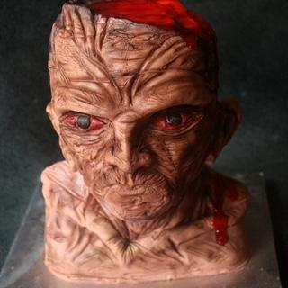 Frankenstein Cake by Sumeru Creations