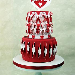Love is in the cake!