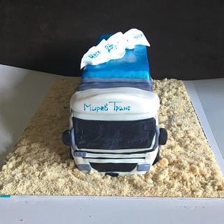 Truck 3D cake