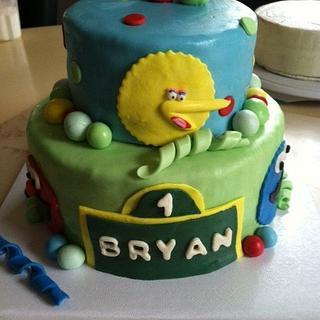 Sesame Street Birthday Cake - Cake by Michelle Allen