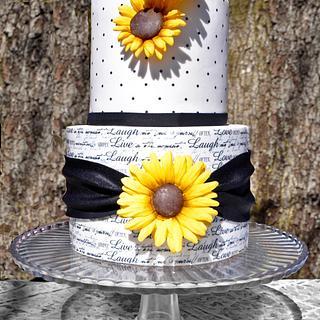 Live, laugh, love.. - Cake by Sandy Lawrenson - Sweet 'n  Sassy