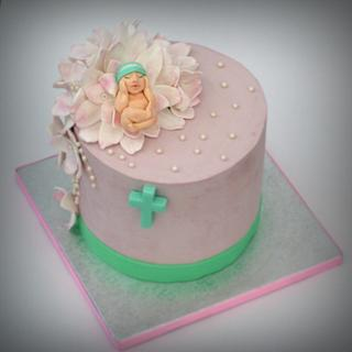 Baptism cake - Cake by TortLove by Aga