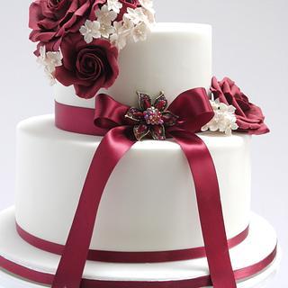 Joanne Wedding Cake