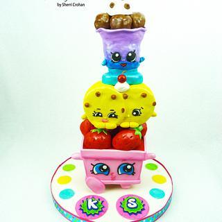 Shopkins!! - Cake by Sherri Crohan