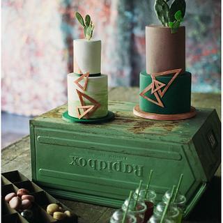 Cactus Attack Wedding Cakes