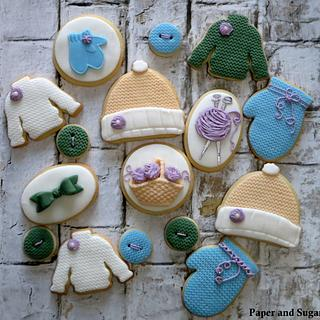 Knitting Cookies