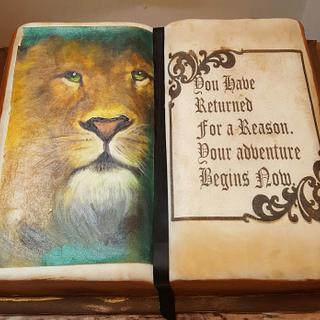 Narnia's Aslan the lion