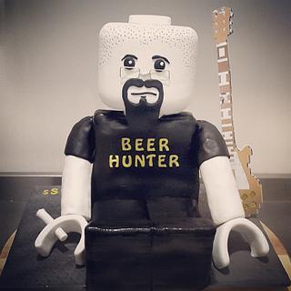 Lego man-musician