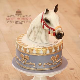 Arabian Horse Cake