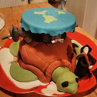 Discworld Birthday Cake