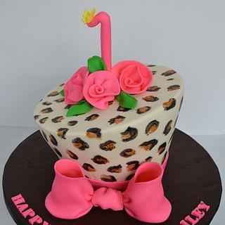 First Birthday Glamour - Cake by ilovebc2