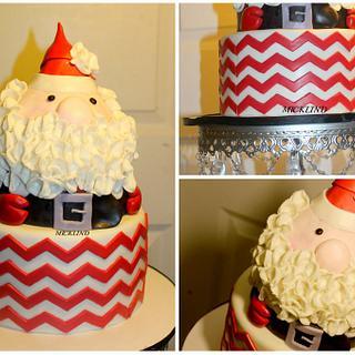 SANTA CLAUSE BIRTHDAY CAKE