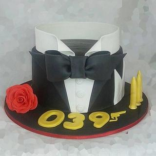 James Bond cake - Cake by Maria Tsilinikou