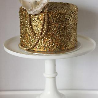 all that glitters is edible gold!