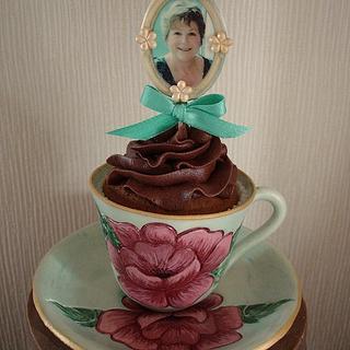 Mother's day teacup & photoframe creation