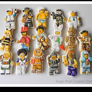 Lego Minifigure Cookies