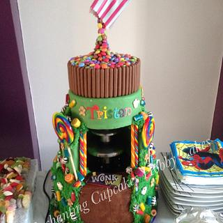 Chocolate fountain cake - Cake by Enchanting Cupcakes hobby cakes