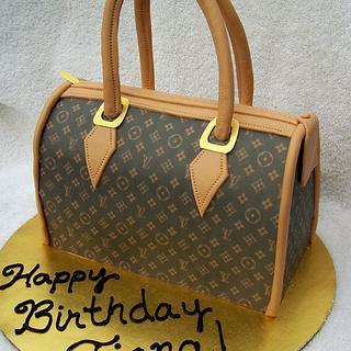 Louis Vuitton Handbag Cake - Cake by Kristi