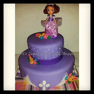 Sofia the 1st - Cake by Jaimie Pereira