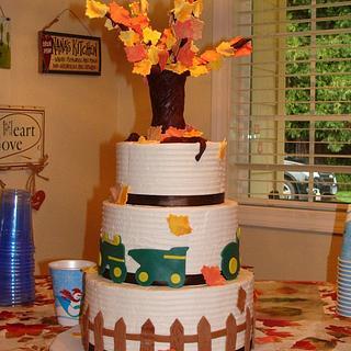 Fall Themed 60th Birthday