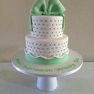 Minty  - Cake by Rainie's Cakes