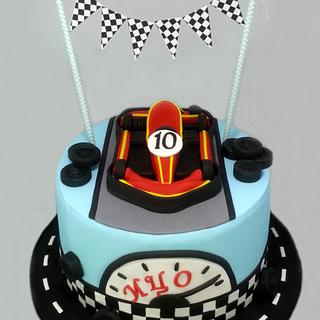 Karting - Cake by Antonia Lazarova