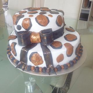 Leopard Cake  - Cake by Maria Tasevska
