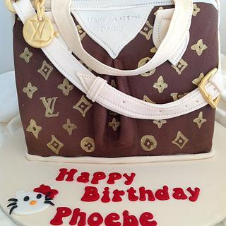 Louis Vuitton handbag cake - Cake by Madd for Cake