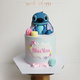 Stitch <3 - Cake by Lulu Goh