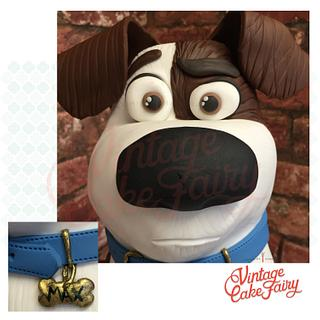 Secret life of Pets 'Max' - Cake by Vintage Cake Fairy