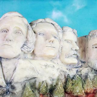 Mount Rushmore -  WOW Wonders of the World  Challenge - Cake by Emily Calvo