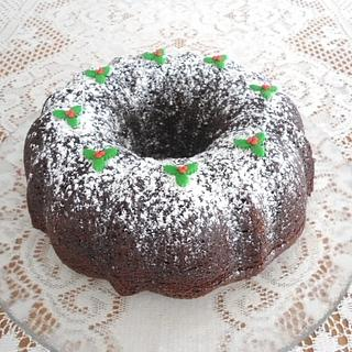 Holly Bundt Cake - Cake by Sugar Me Cupcakes
