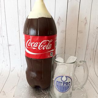 Coke bottle cake - Cake by paula0712