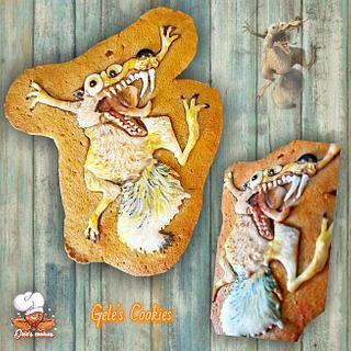 Scratt ice age - Cake by Gele's Cookies