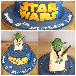 Star Wars  - Cake by Cushty cakes