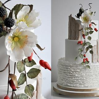 Wedding autumn cake