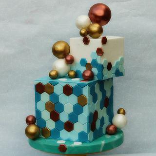 Geometry-wedding cakes