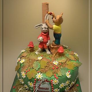 "Children's Cake ""I grow!"""
