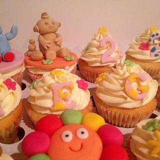 In the Night Garden 4th Birthday Cupcakes