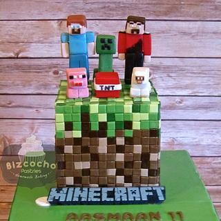 MINECRAFT - Cake by Bizcocho Pastries
