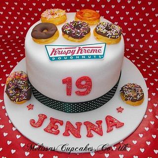 Krispy Kreme Doughnuts Cake