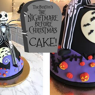 BLACK VELVET JACK SKELLINGTON CAKE!