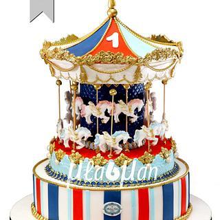 """Carousel Cake / Торта """" Въртележка"""""""