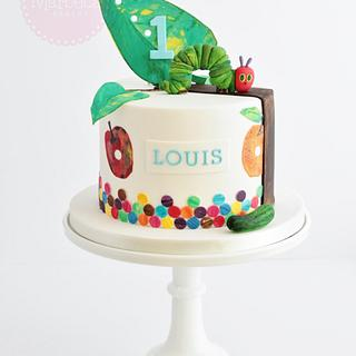 Hungry Caterpillar Cake - Cake by The Marbeca Bakery