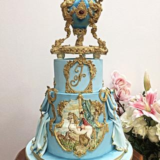 Baroque Little Prince Cake